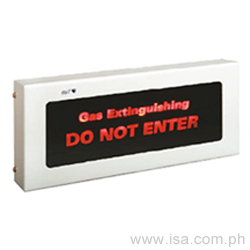 UL Listed Gas Extinguishing Warning Indicator
